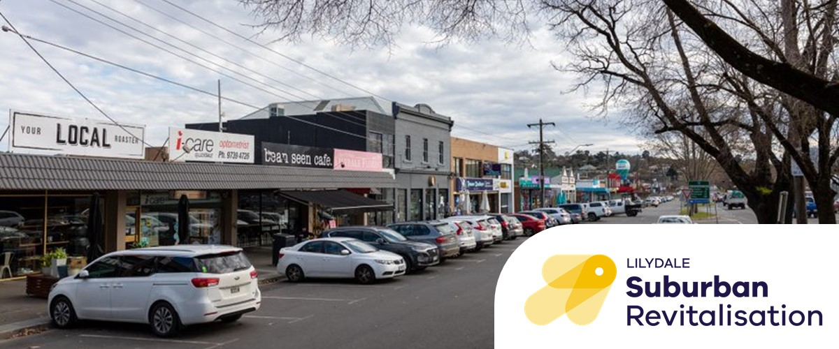 Photo of Lilydale's main street